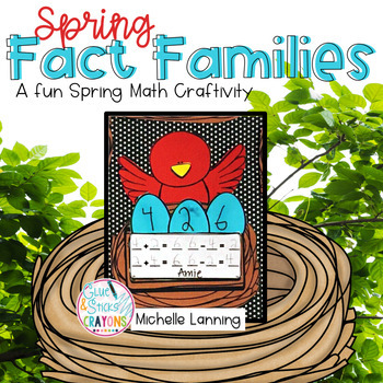 Spring Fact Family - a Craftivity