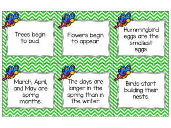 Fact or Opinion: Spring