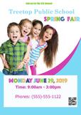 Spring Fair Poster, Fully Customizable