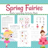 Spring Fairies Early Learning Activity Pack