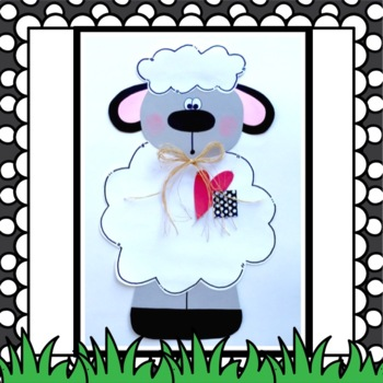 Farm Sheep Craft & Writing Activities