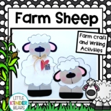 Farm Crafts:  Sheep Crafts: Farm Writing Activities: Spring Crafts: Fall Crafts