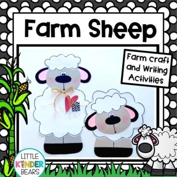 Farm Crafts:  Sheep Crafts: Farm Writing Activities: Spring Crafts: Fall Crafts