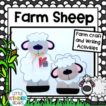 Farm Sheep Craft & Writing Activities