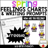 Spring Feelings Charts and Writing Prompts FREEBIE