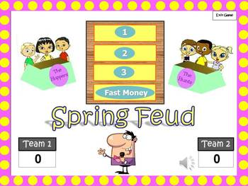 Spring Feud: Season Themed Powerpoint Game