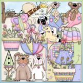 Spring Fever Clip Art - Spring Clip Art - CU Clip Art & B&W