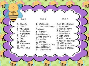 Spring Fever: Articulation Sentences Pack (R,S,L,SH,CH,TH)