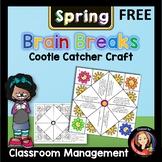 Spring Fever Brain Breaks Cootie Catcher - Freebie