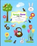 Spring Fever Clip Art for Commercial Use