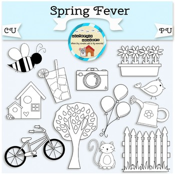 Spring Fever Clipart - nature - seasonal