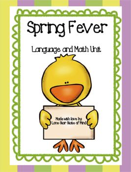 Spring Fever! Language and Math activities
