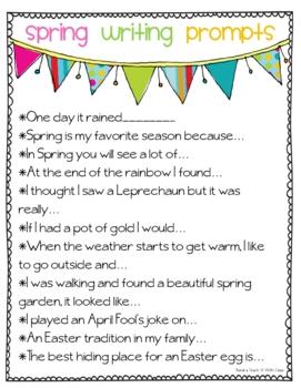 Spring Fever {Math, Literacy & Writing}