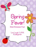 Spring Fever-Math Worksheets