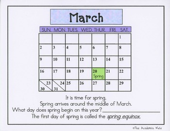 Spring Fever: Math and Literacy Centers