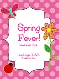 Spring Fever Worksheet Bundle