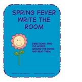 Spring Fever Write the Room