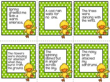 Spring Figurative Language Pack