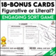Spring Figurative Language Task Cards and Figurative or Literal Sort Cards