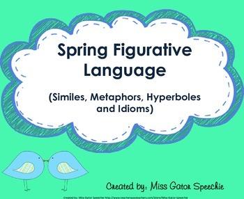 Spring Figurative Language