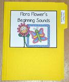 """Spring File Folder Game--""""Flora Flower's Beginning Sounds"""""""
