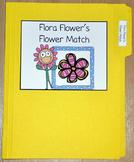 """Spring File Folder Game--""""Flora Flower's Flower Match"""""""
