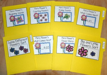 Spring File Folder Games Bundle