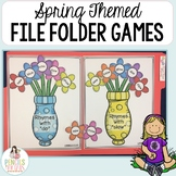 Spring File Folder Games - Morning Work, Center Activities, Small Group & More!