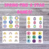 TEN Spring Find a Star Games for ESL teaching