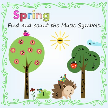 Spring: Find and Count the Music Symbols.