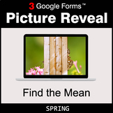 Spring: Find the Mean - Google Forms Math Game | Distance