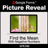 Spring: Find the Mean with negative numbers - Google Forms