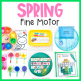 Spring Fine Motor Activities   March Preschool Centers, Work Tubs, & Worksheets