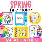 Spring Fine Motor Activities | March Preschool Centers, Work Tubs, & Worksheets