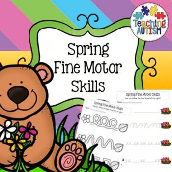 Spring Fine Motor Skills