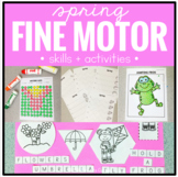 Spring Fine Motor Skills and Activities