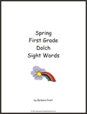 Spring First Grade Dolch Sight Words eBook