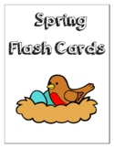 Spring Flash Cards