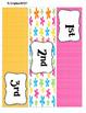 Spring Fling 2 -- 3-drawer Organizer Box Labels