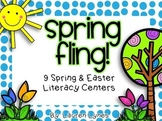 Spring Fling! {9 Spring & Easter Literacy Centers}