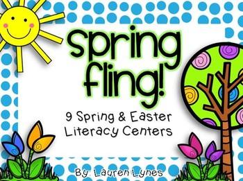 Spring Fling! {9 Spring & Easter Literacy Centers}