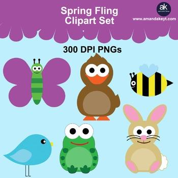 Spring Fling Clipart