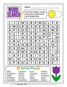 Spring Fling Fun Printables