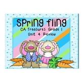 Spring Fling! Grade 1 CA Treasures Review Unit 4
