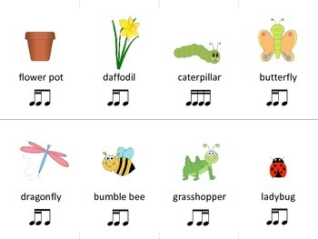 Spring Fling!  - Engaging Rhythm Literacy, Composing and Playing Activities