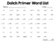 Spring Fling Sight Word Game - ALL 220 Dolch Words!