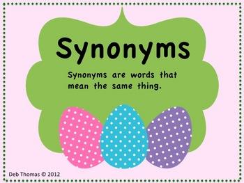 Synonym fling
