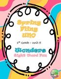 Spring Fling UNO Wonders Unit 5 (1st)
