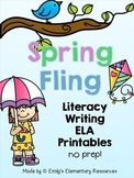 Spring Fling Writing & Literacy Activities