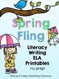 Spring Fling Writing & Literacy Activities